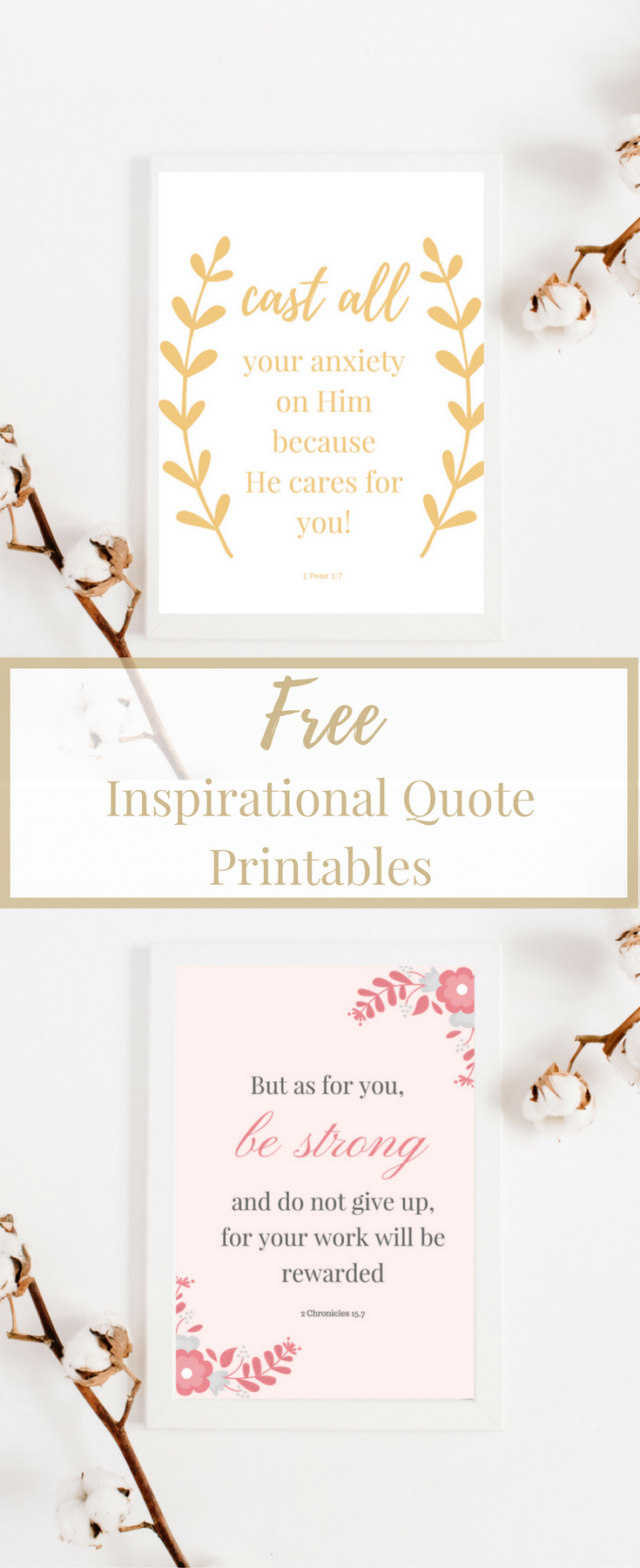 Free Inspirational Quote Printables perfect for your home