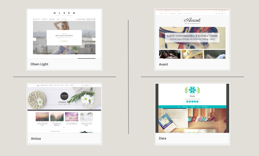Free WordPress Themes for female bloggers