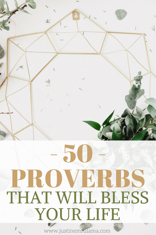 50 Inspirational Proverbs Bible Verses Inspiring Scripture Quotes