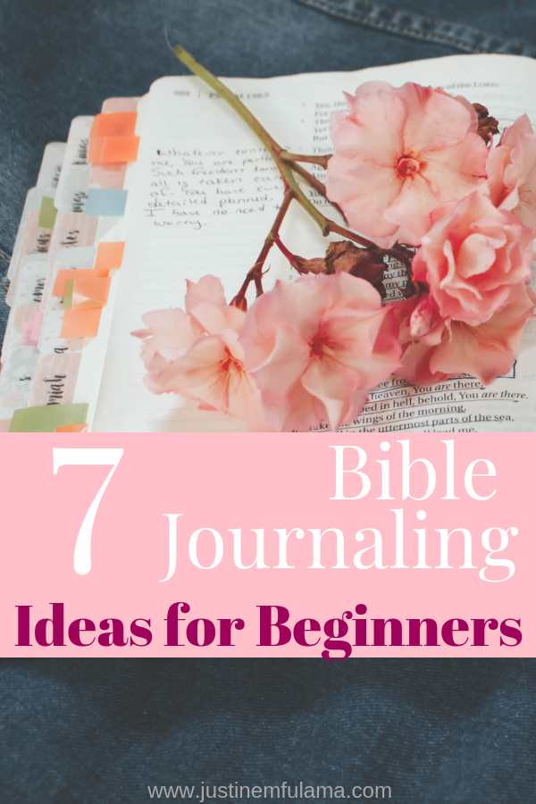 7 Bible Journaling Ideas