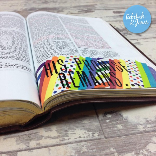 Bible Journaling_Washi Tape