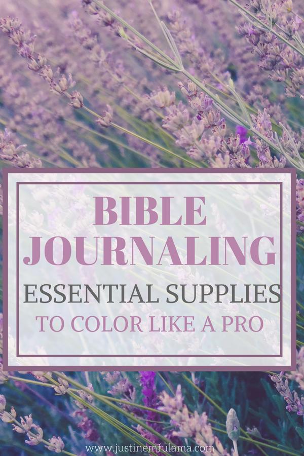 Essential Bible Journaling Supplies