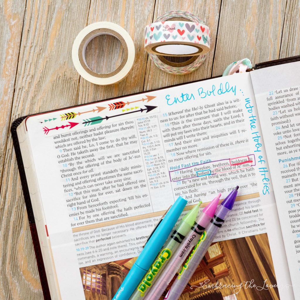 Micro Bible Journaling