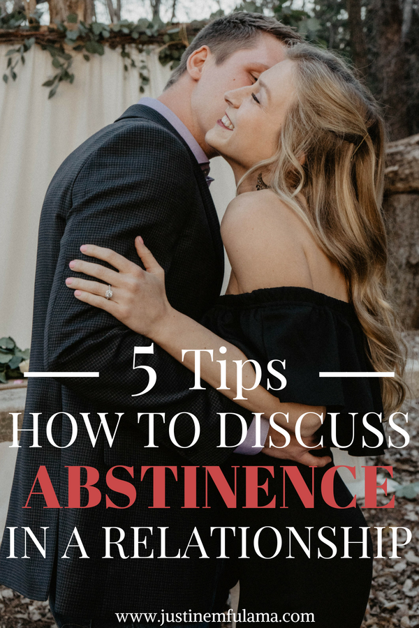 5 Tips how to discuss abstinence in a relationship